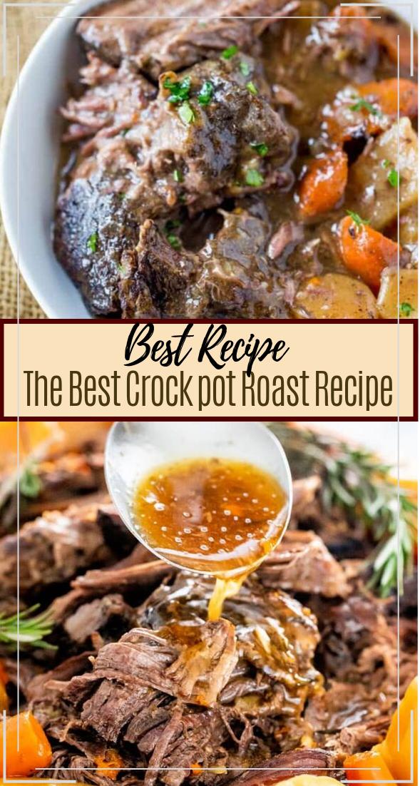 The Best Crock pot Roast Recipe #dinnerrecipe #food #amazingrecipe #easyrecipe