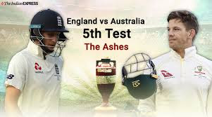 England v Australia 5th test 2019
