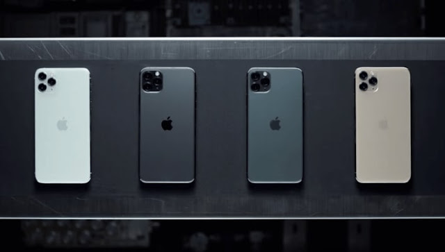 iPhone 11 Pro - Apple Focus on the Camera and Screen