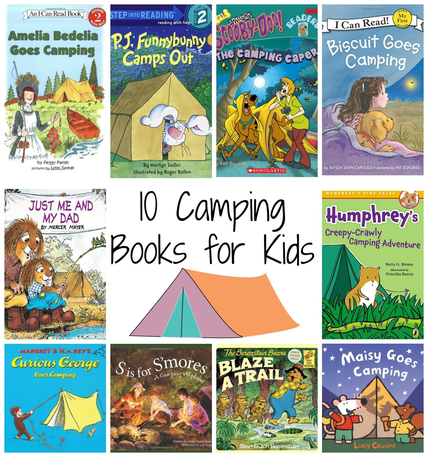 Tons of Fun Camping Themed Activities for Kids {With Free