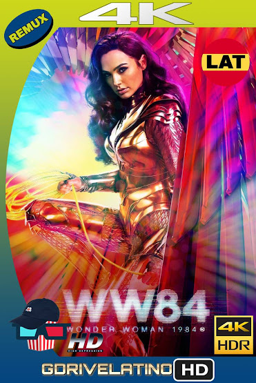 Wonder Woman 1984 (2020) IMAX BDRemux 4K HDR Latino-Ingles MKV