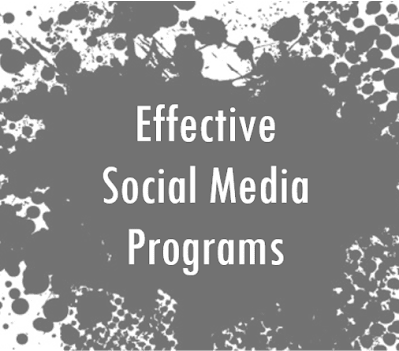5 Keys to an Effective Social Media Program