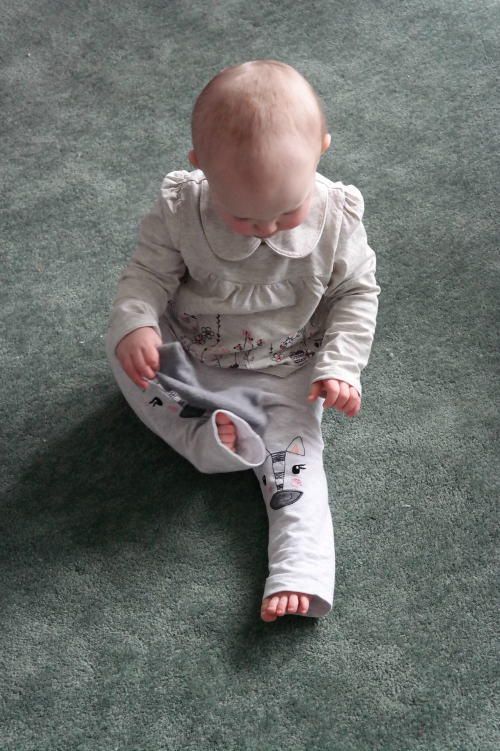 Toddler Togs: Zebra leggings
