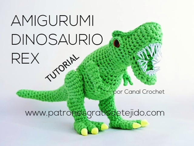 como-tejer-dinosaurio-amigurumi