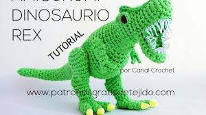 Cómo tejer un Dinosaurio Amigurumi