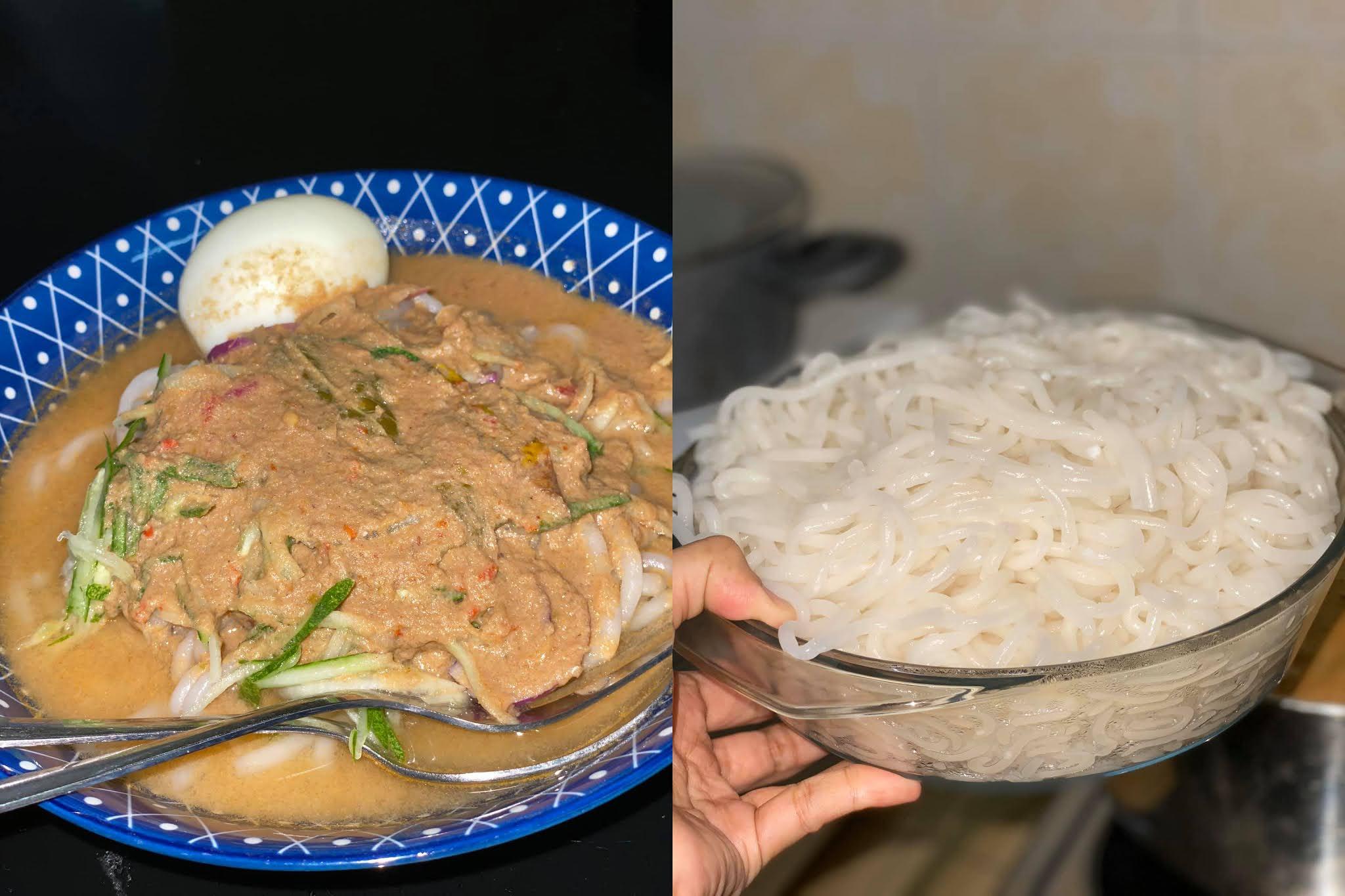 cara masak dan resepi laksa 2020