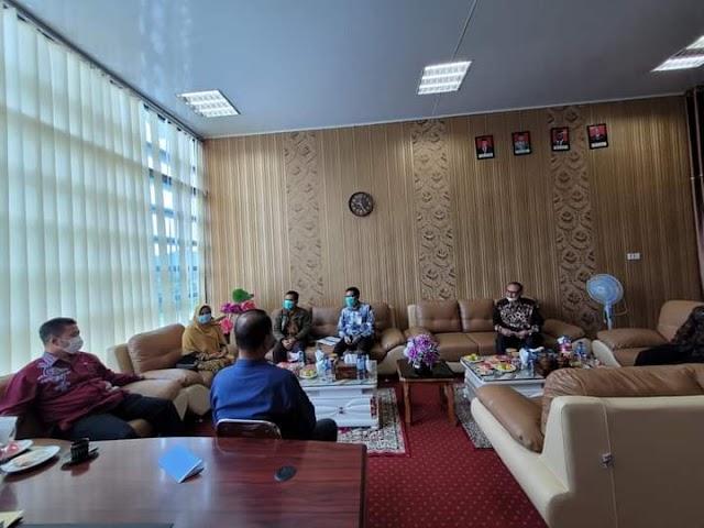 Sekda Bener Meriah Terima Kunjungan Kakanwil DJKN Provinsi Aceh