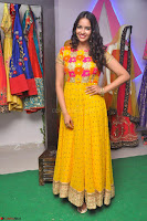Pujitha in Yellow Ethnic Salawr Suit Stunning Beauty Darshakudu Movie actress Pujitha at a saree store Launch ~ Celebrities Galleries 021.jpg