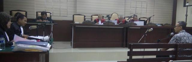 Wiwiet Febriyanto Jalani Pemeriksaan  Sebagai Terdakwa di Pengadilan Tipikor Surabaya