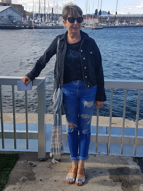 At Hobart's waterfront