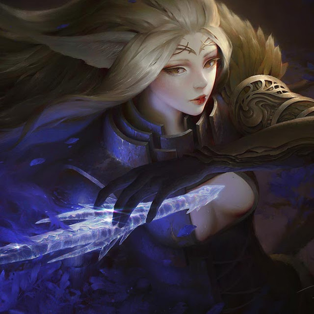Mothianna the Diamond Sword Wallpaper Engine
