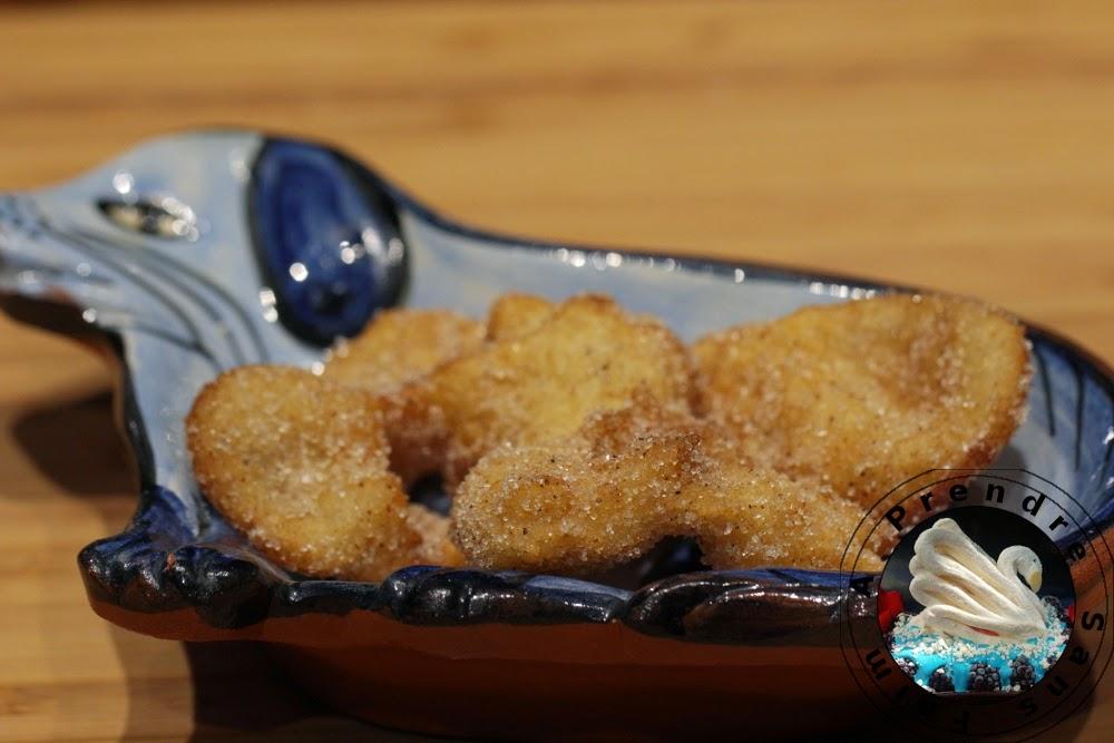 Beignets portugais à l'eau «Farturas» (pas à pas en photos)