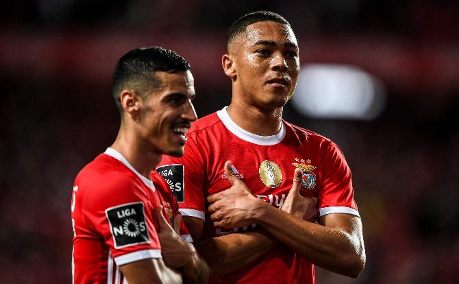 Benfica, Chiquinho e Vinícius