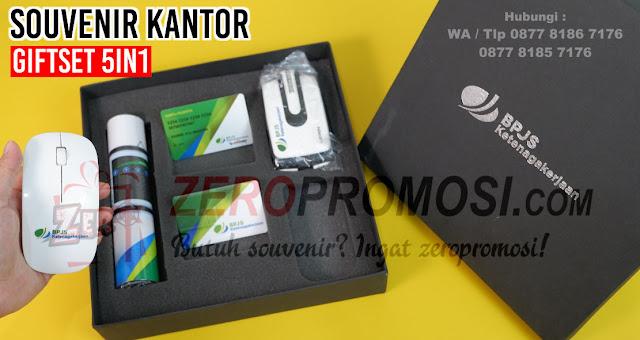 Souvenir Kantor giftset 5in1, Barang promosi Gift set 5 in 1, Paket souvenir premium