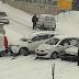 Haos u BiH zbog snijega: Pogledajte nesvakidašnje saobraćajne nesreće - VIDEO