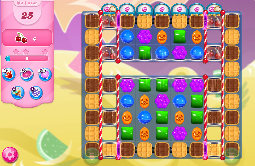 Candy Crush Saga level 8142