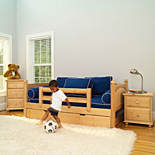 furniture minimalis kamar tidur anak laki-laki - desain