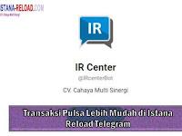 Transaksi Pulsa Lebih Mudah di Istana Reload Telegram