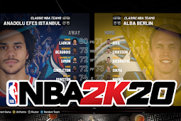 NBA 2K20 - Anadolu Efes vs Alba Berlin Gameplay #PCBasket2K20