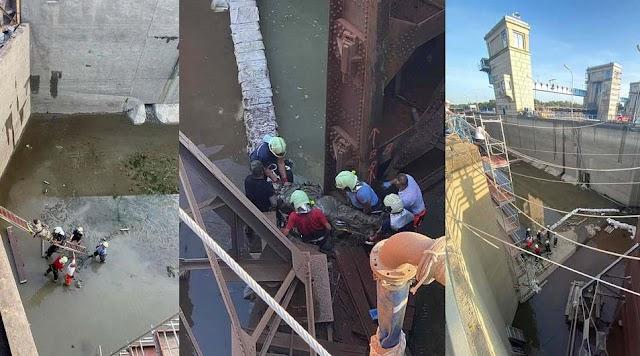 Súlyos baleset: mentőhelikopter a tiszalöki hajózsilipnél (videóval)
