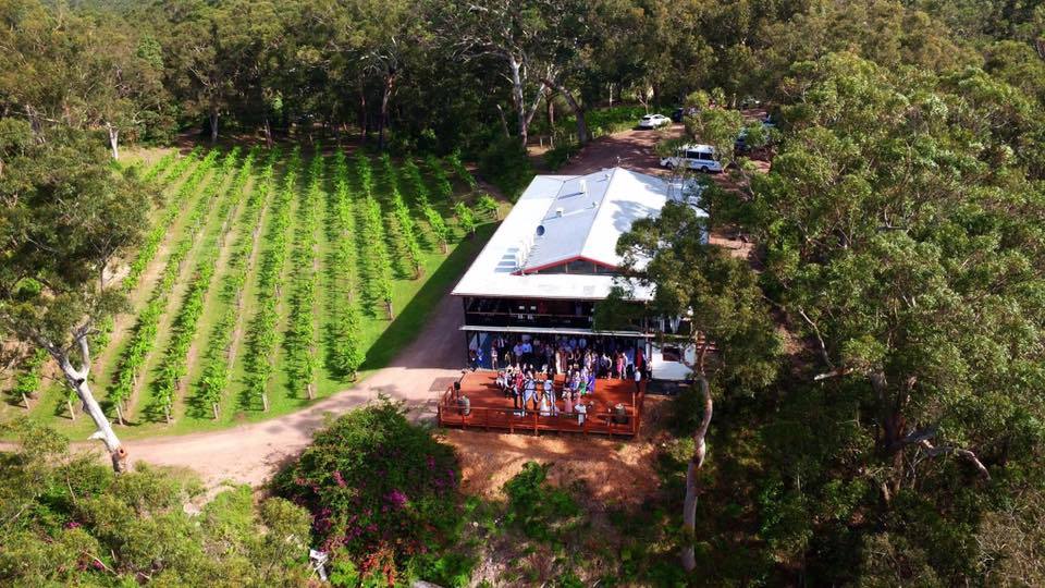BOBS FARM VINEYARD WEDDING VENUE NSW