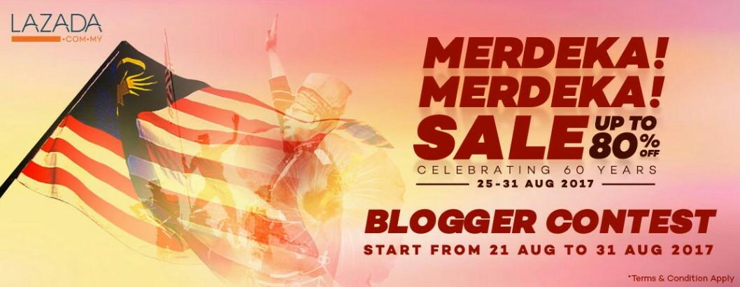 Lazada Merdeka!  Merdeka Blogger Contest