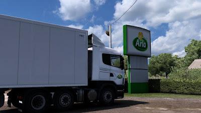 Arla Skin for Scania rjl+Ekeri trailer & Scs Owned trailer