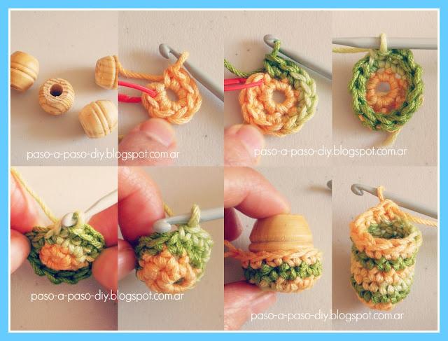 Como hacer un collar de perlas tejidas
