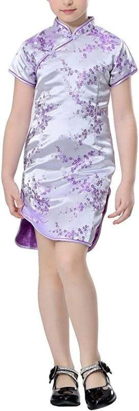 Cheongsam Qipao Dresses For Children