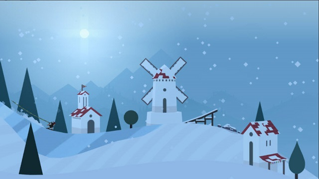 تحميل لعبة التزلج Alto's Adventure للاندرويد والأيفون أخر اصدار