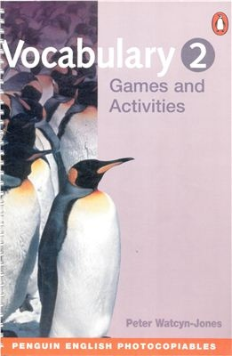 Vocabulary Games and Activities 1, 2 (Penguin English Photocopiables)