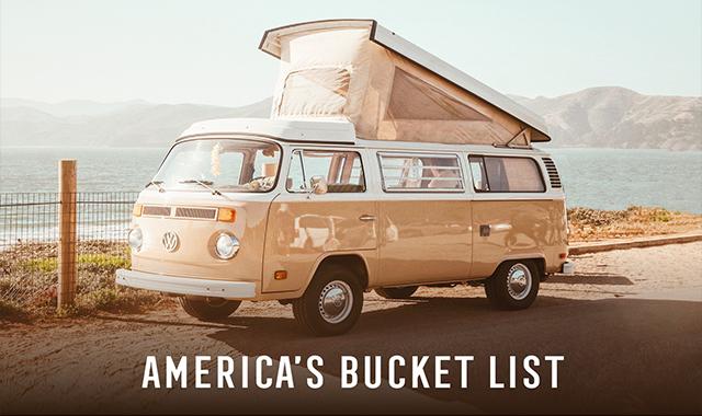 America's Bucket List #infographic