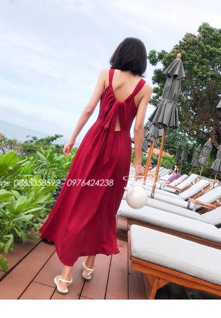Váy maxi V493