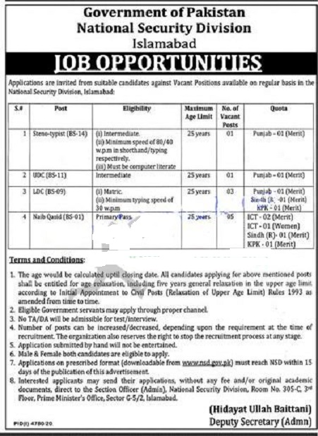 National Security Division NSD Jobs March 2021