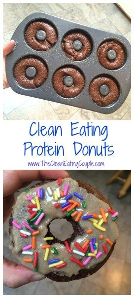 CLEAN EATING PROTEIN DONUTS #recipes #healthyideas #healthyrecipes #snackideas #healthysnackideas #food #foodporn #healthy #yummy #instafood #foodie #delicious #dinner #breakfast #dessert #yum #lunch #vegan #cake #eatclean #homemade #diet #healthyfood #cleaneating #foodstagram