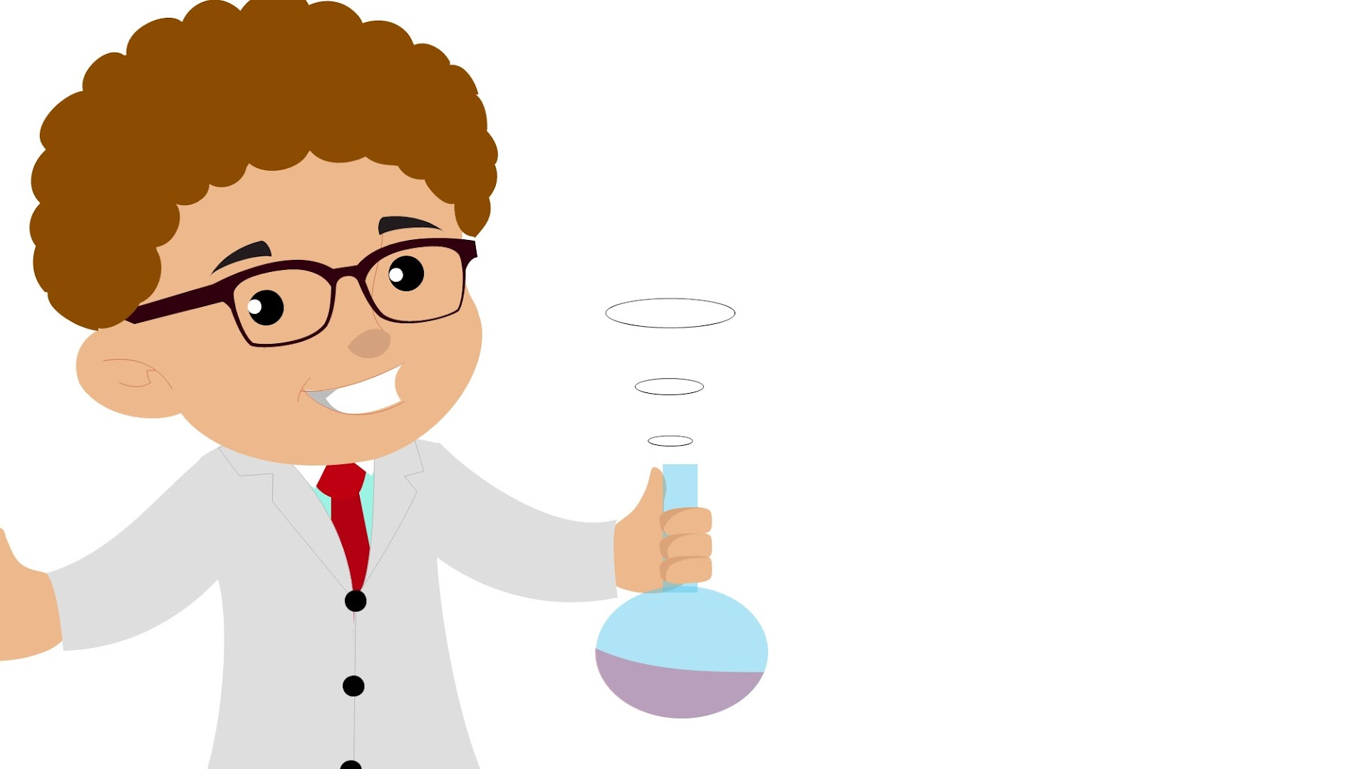 Kids Chemistry project Google Slides Themes and PowerPoint Template