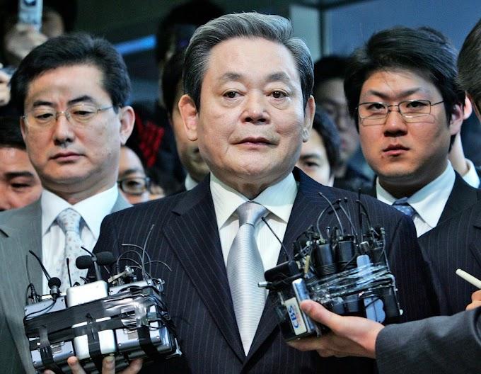 Samsung electronics chairman, Lee Kun-Hee dies at 78