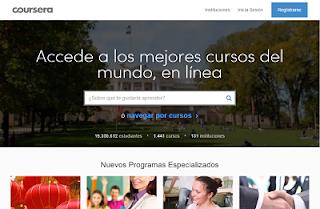 Plataforma de Cursos Coursera