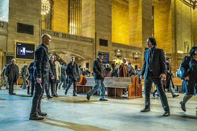 John Wick: Chapter 3 Mark Dacascos and Keanu Reeves 2019 film