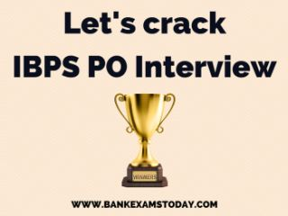 IBPS PO INTERVIEW