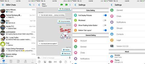 BBM IOS Iphone Light v12 v3.1.0.13 apk