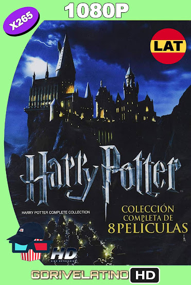Harry Potter (2001-2011) Colección [Open Matte] WEB-DL 1080p Latino-Ingles MKV