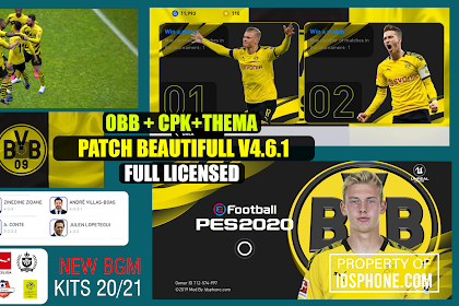 PATCH PES BORUSSIA DORMUND BY IDSPHONE V4.6.1