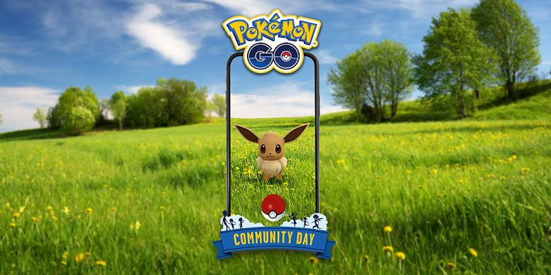 Eevee Dia Comunitário Pokémon GO