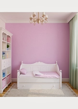 warna cat kamar tidur ungu