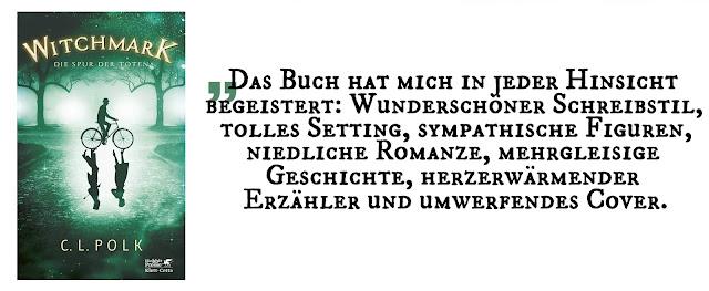 """Highlight des Monats März: """"Witchmark 1: Die Spur der Toten"""" von C. L. Polk"""