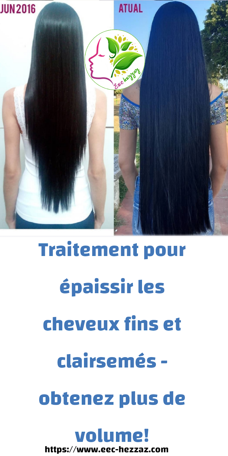 Traitement pour épaissir les cheveux fins et clairsemés - obtenez plus de volume!