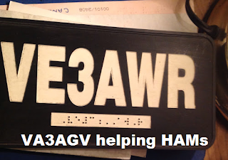 VA3AGV helping HAM
