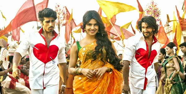 A still from theatrical trailer of Gunday movie