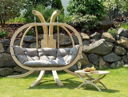 Amazonas lounge hangstoel voor buiten en binnen